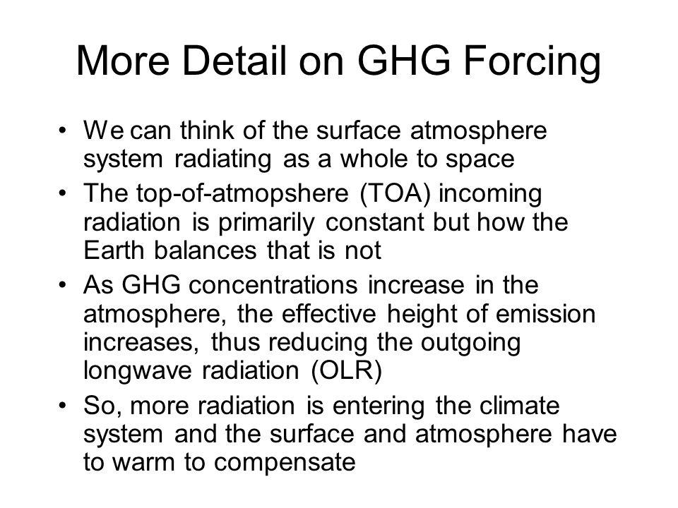 Climate Energy Balance