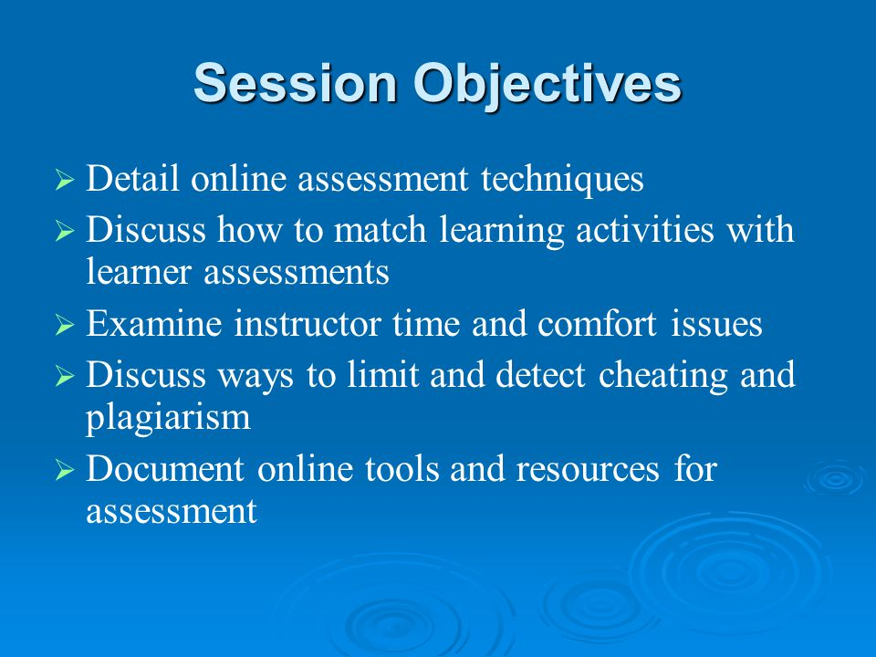 Online Assessment Techniques (with some time-saving tips added in…)