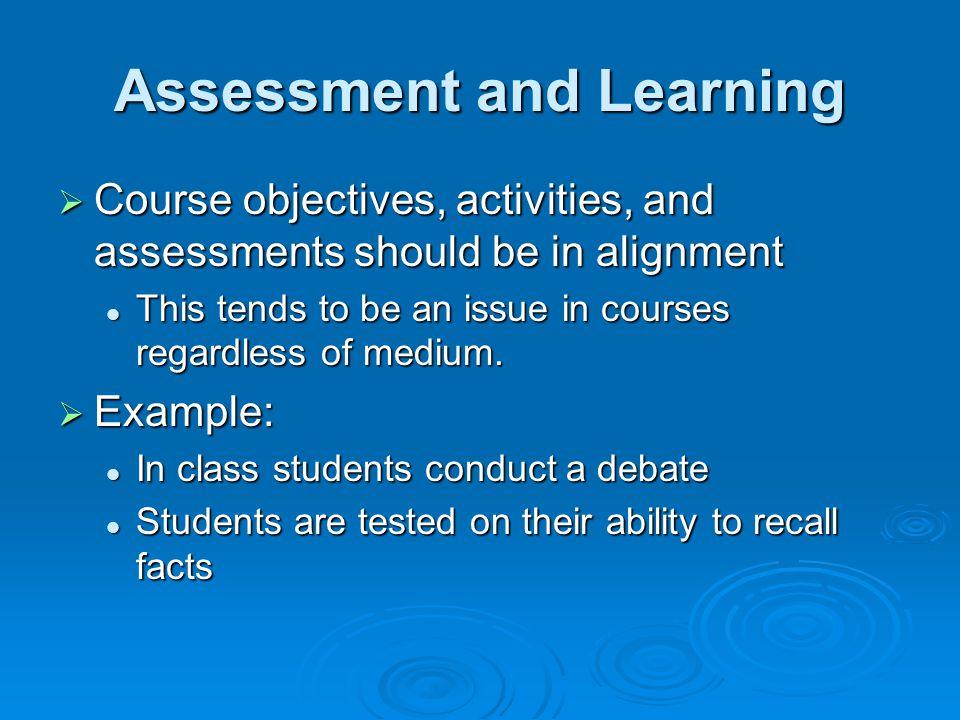 Why Assess Process.