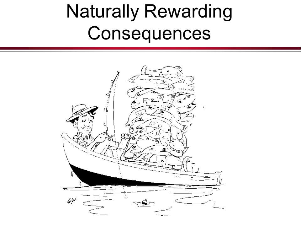 Naturally Rewarding Consequences