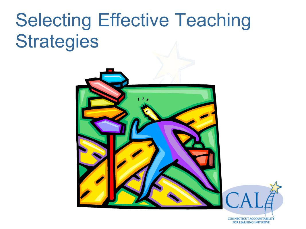Selecting Effective Teaching Strategies