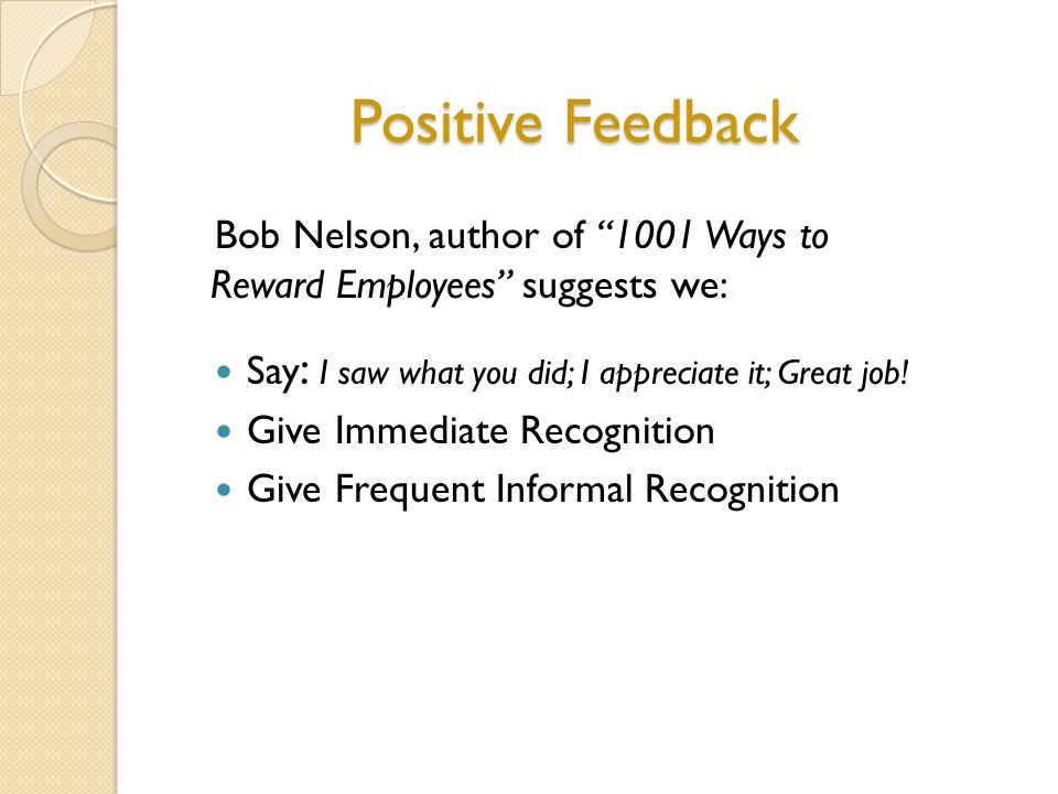 1. What triggers our resistance to developmental feedback? Receiving Feedback