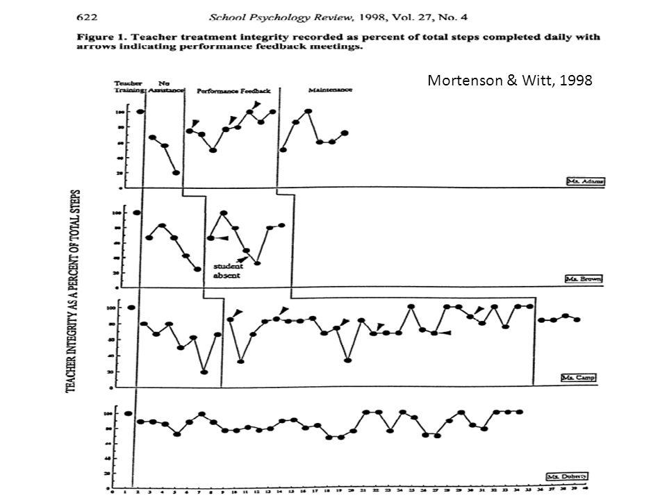 Mortenson & Witt, 1998