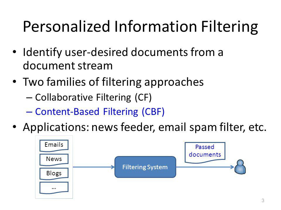 Semi-Structured Documents Increasingly prevalent over the Internet Emails, news, movies, tweets, etc.