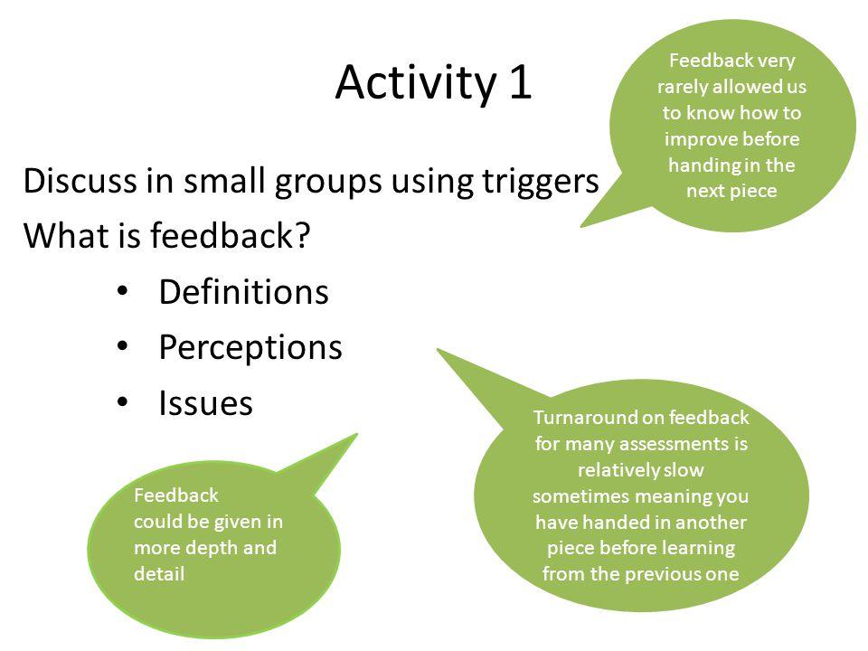 Why encourage peer feedback.