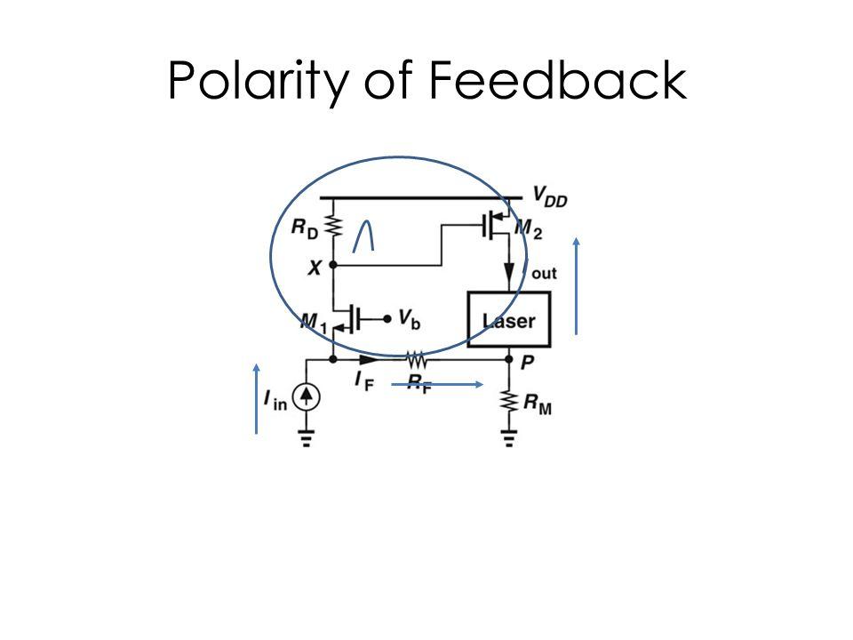 Polarity of Feedback