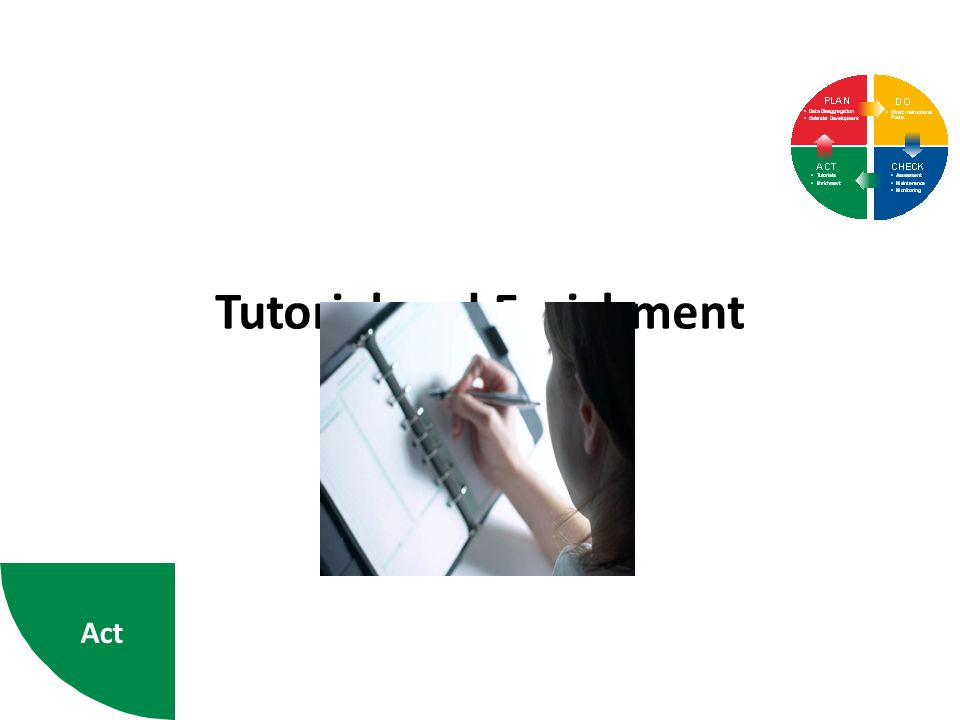 Tutorial and Enrichment Act