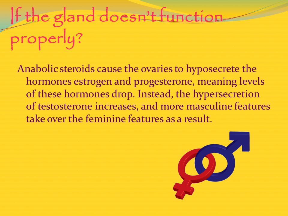 If the gland doesnt function properly.