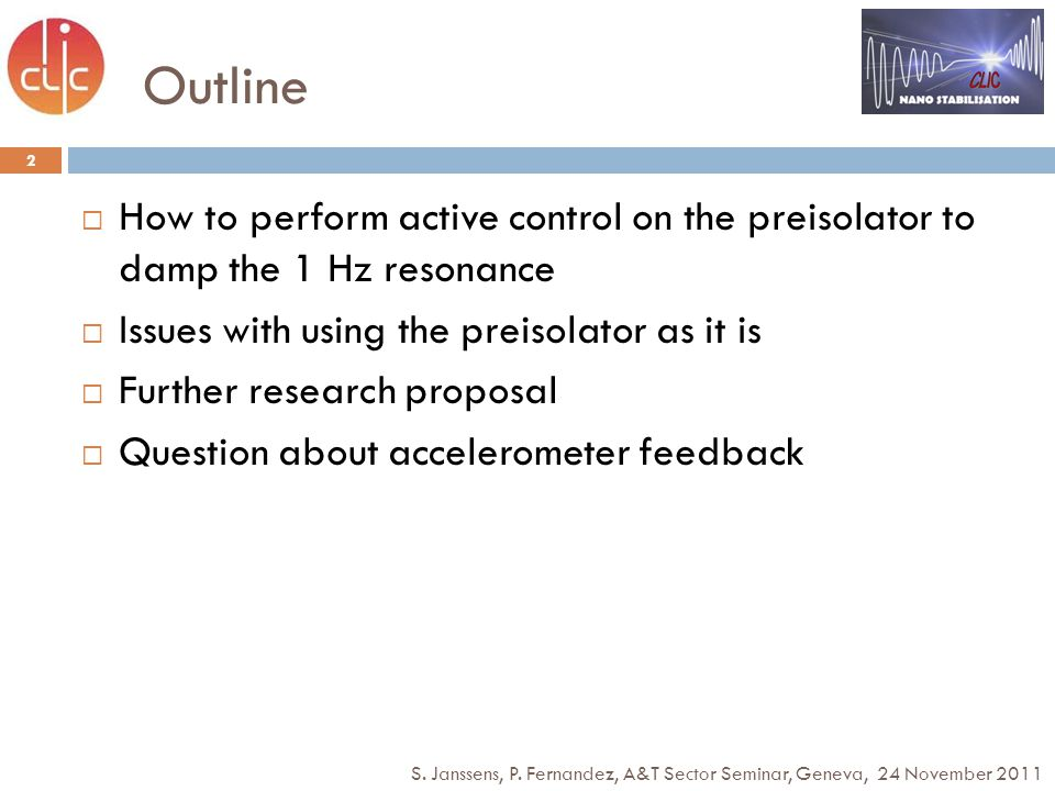 Issues for the preisolator 13 3D coherence of ground motion C.