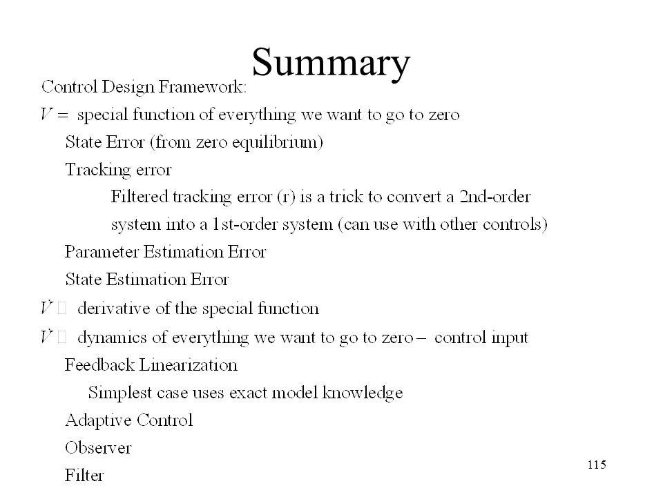 Summary 115