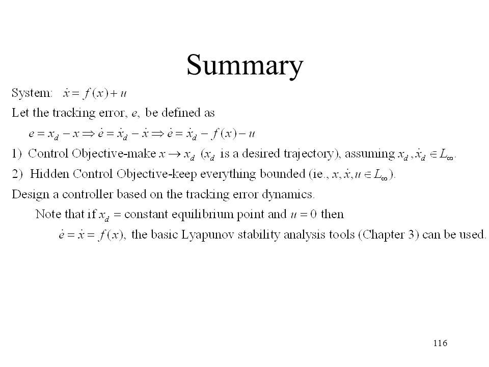 Summary 116