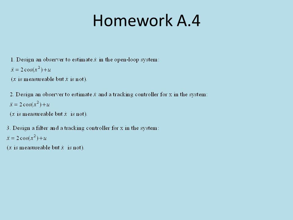 Homework A.4
