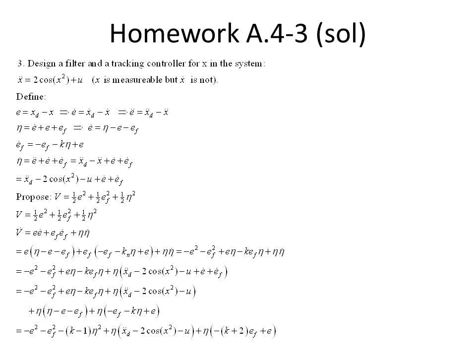 Homework A.4-3 (sol)