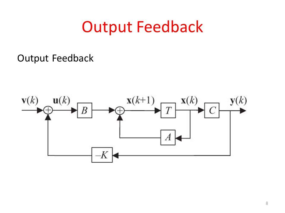 Output Feedback 8