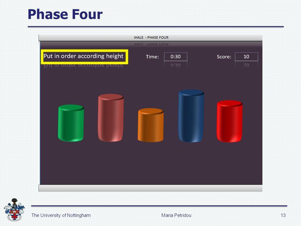 Phase Four Maria Petridou13The University of Nottingham