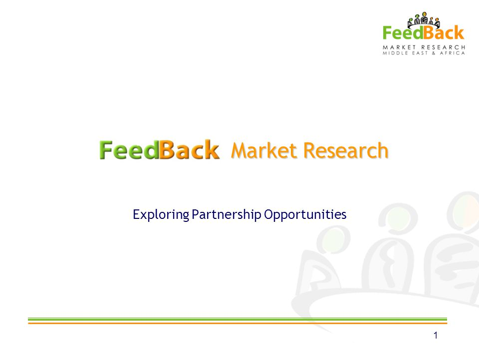 Market Research Market Research Exploring Partnership Opportunities 1