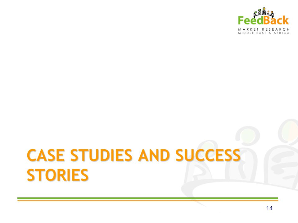 CASE STUDIES AND SUCCESS STORIES 14