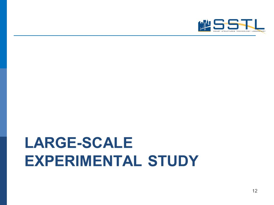 LARGE-SCALE EXPERIMENTAL STUDY 12