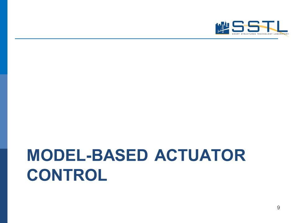 MODEL-BASED ACTUATOR CONTROL 9