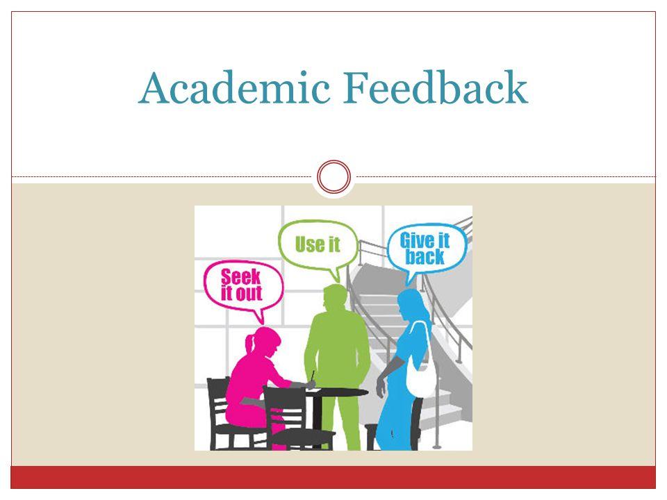 Academic Feedback