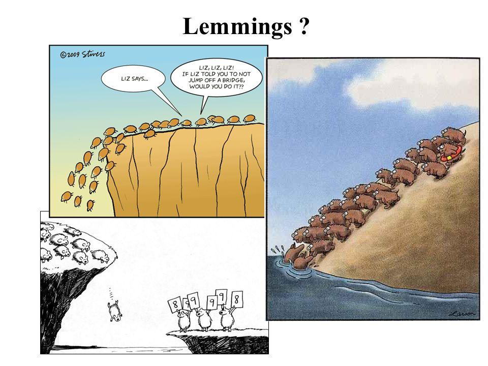 Lemmings ?