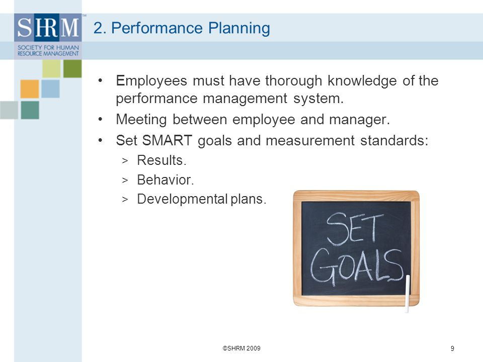 6.Performance Renewal and Re-Contracting Final step in performance management process.