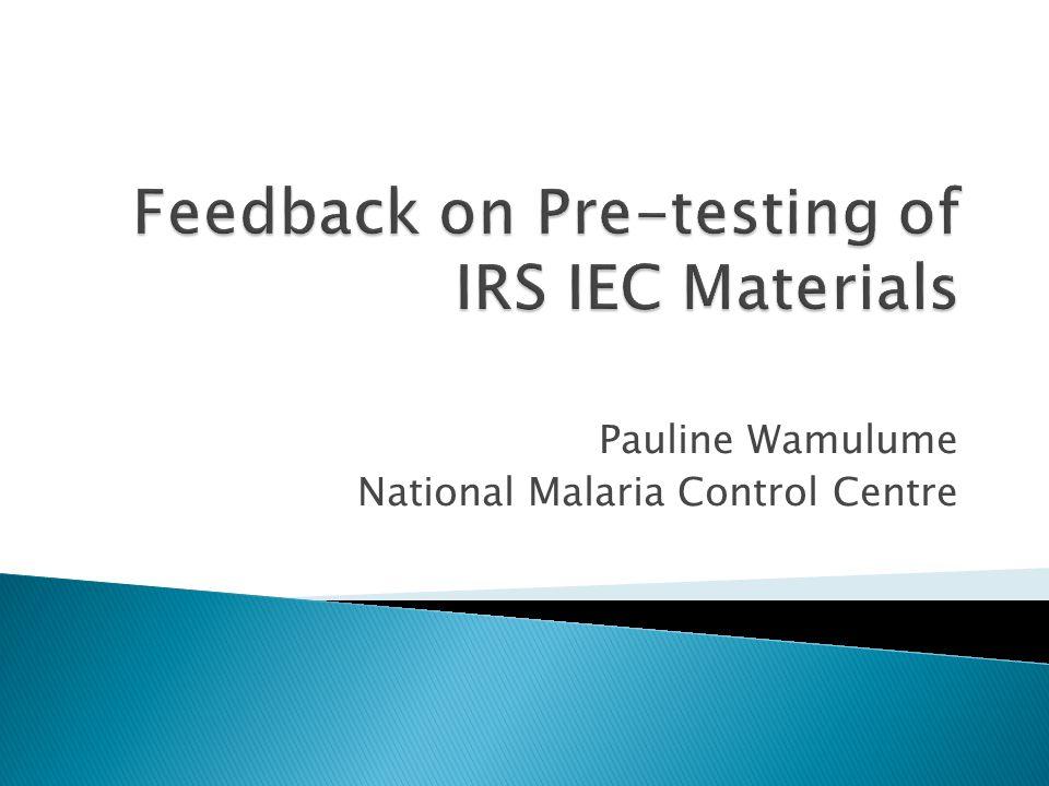 Pauline Wamulume National Malaria Control Centre
