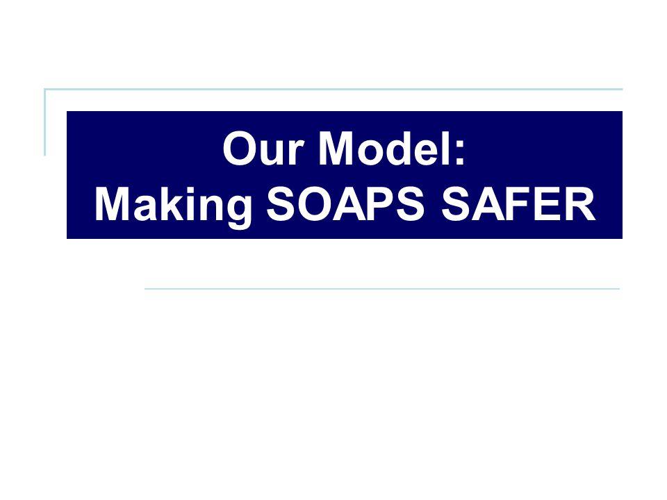 Our Model: Making SOAPS SAFER