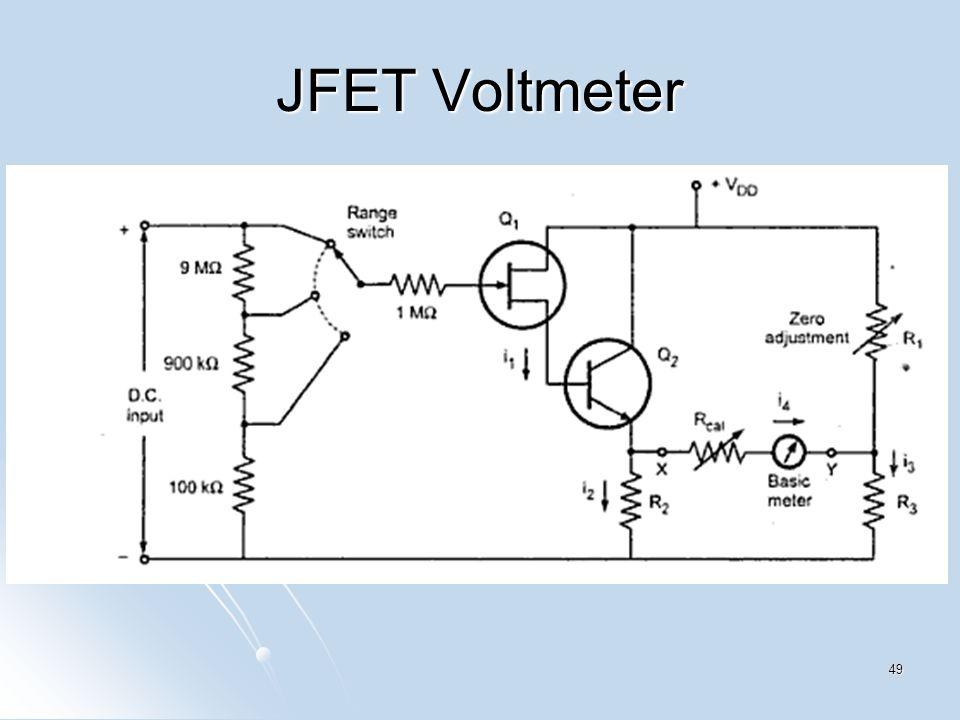 JFET Voltmeter 49