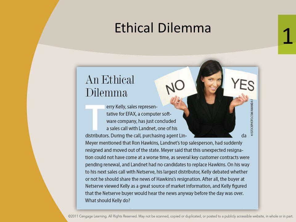 1 Ethical Dilemma