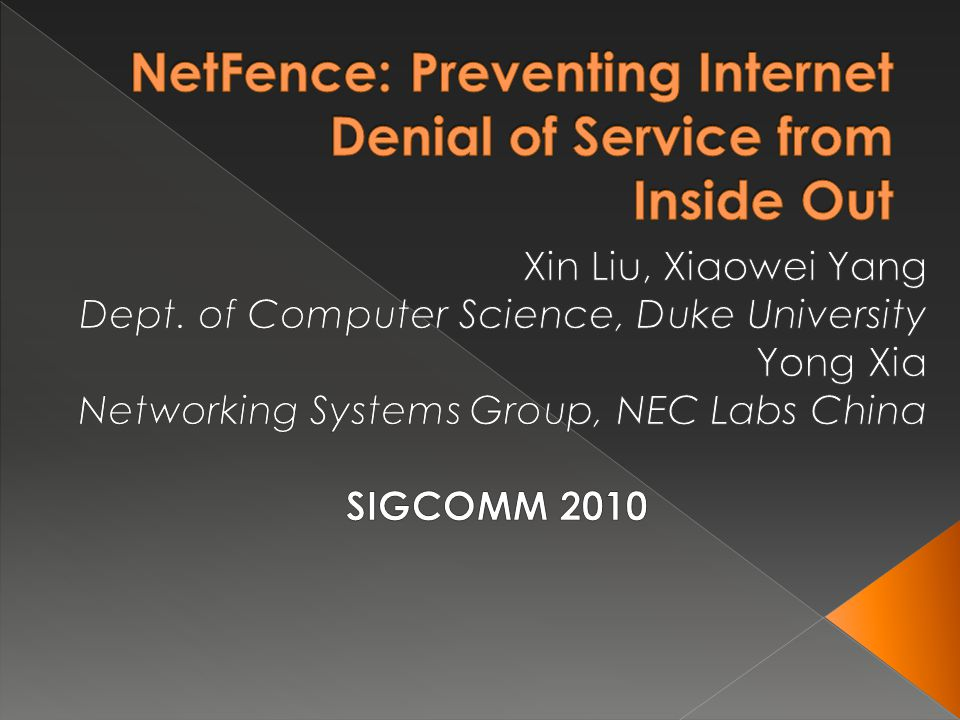 A NetFence router can take several approaches to localize the damage of compromised ASes, if its congestion persists after it has started a monitoring cycle, a signal of malfunctioning access routers.
