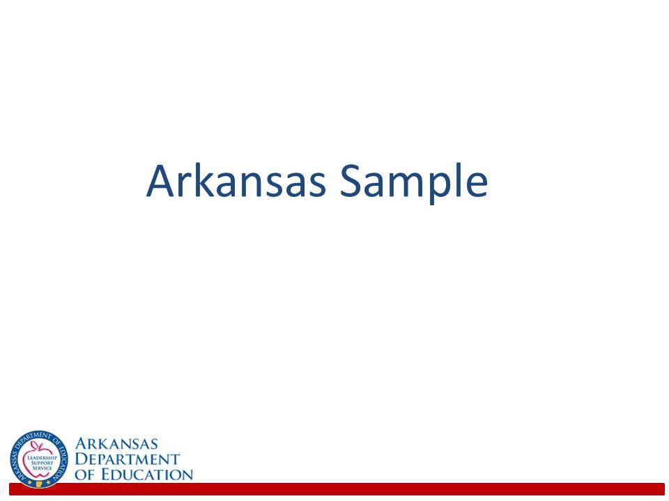 Arkansas Sample