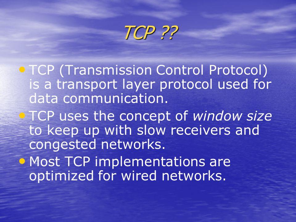 TCP ?.