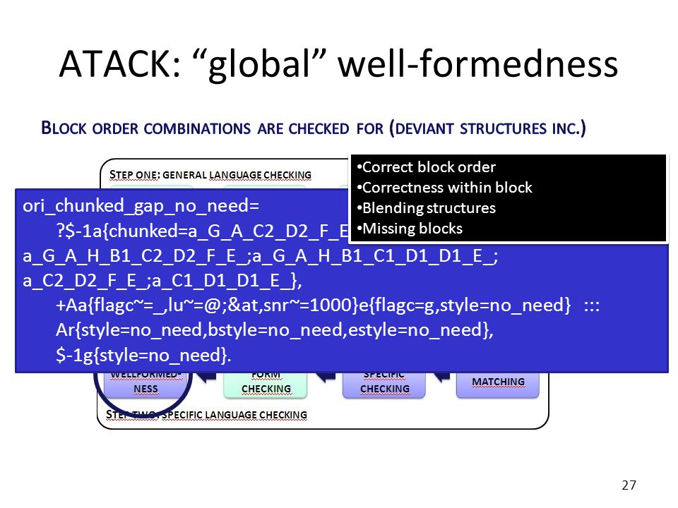 ATACK: global well-formedness ori_chunked_gap_no_need= ?$-1a{chunked=a_G_A_C2_D2_F_E_;a_G_A_C1_D1_D1_E_; a_G_A_H_B1_C2_D2_F_E_;a_G_A_H_B1_C1_D1_D1_E_; a_C2_D2_F_E_;a_C1_D1_D1_E_}, +Aa{flagc~=_,lu~=@;&at,snr~=1000}e{flagc=g,style=no_need} ::: Ar{style=no_need,bstyle=no_need,estyle=no_need}, $-1g{style=no_need}.