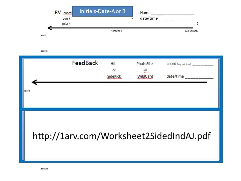 http://1arv.com/Worksheet2SidedIndAJ.pdf Initials-Date-A or B