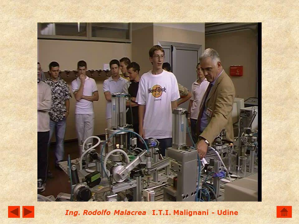 Ing. Rodolfo Malacrea I.T.I. Malignani - Udine