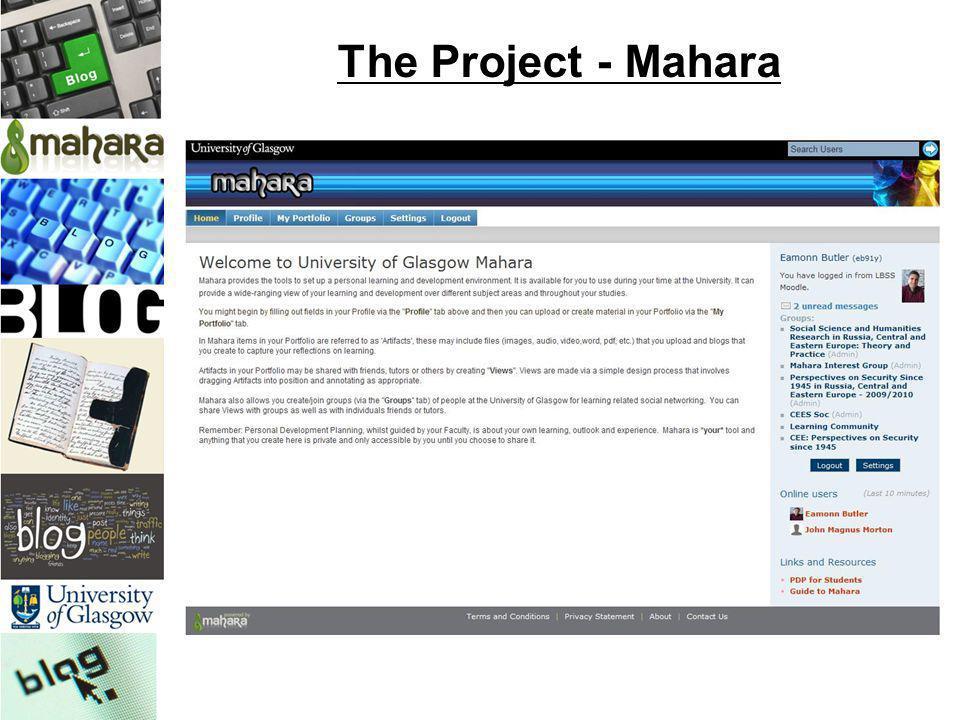 The Project - Mahara