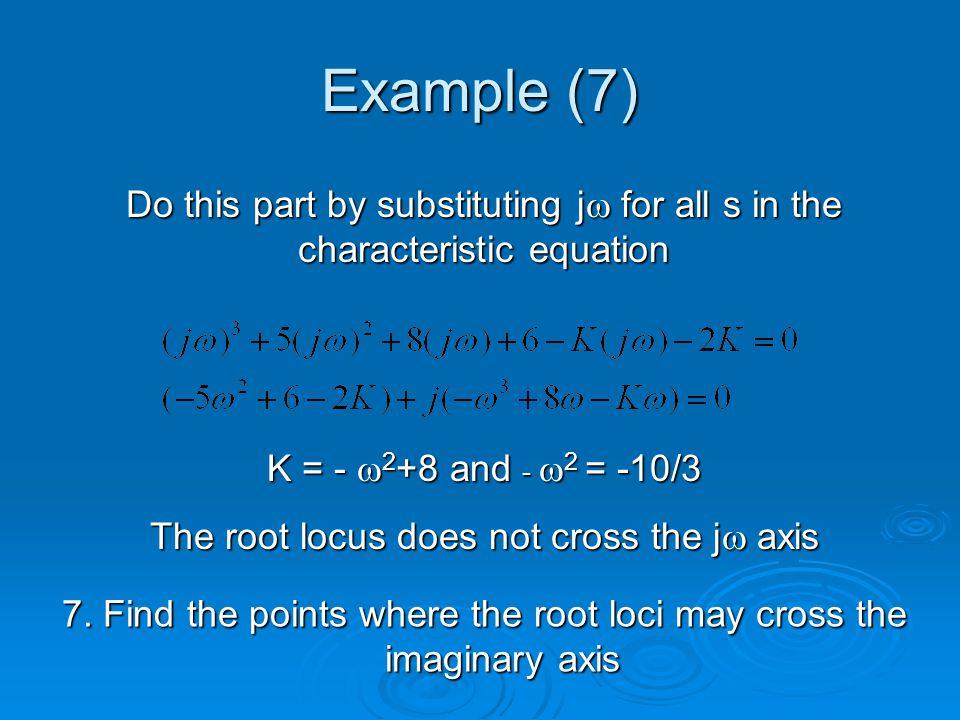 Example (7) 7.