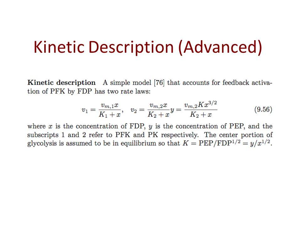 Kinetic Description (Advanced)
