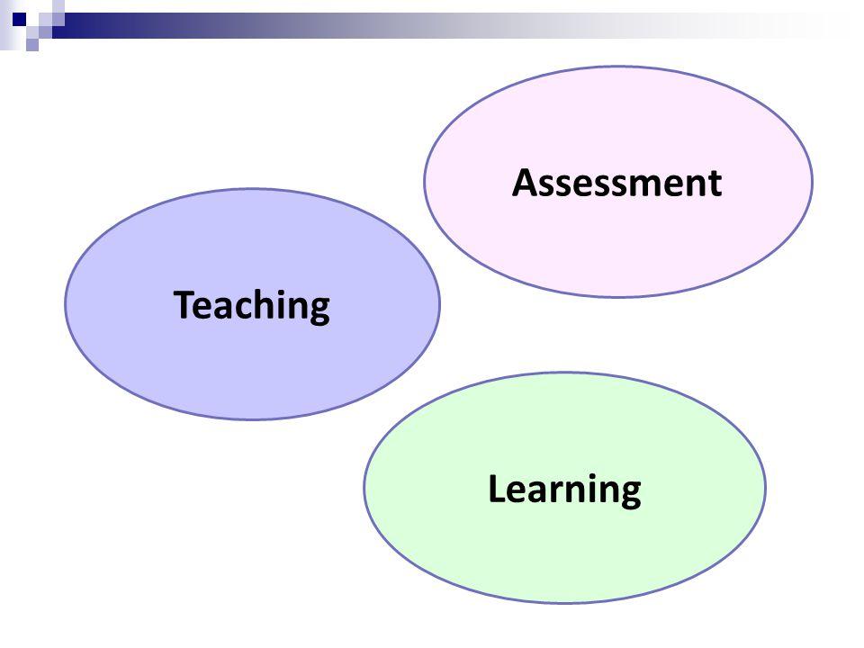 Teaching Assessment Learning