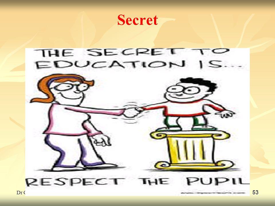 Dr G L Gulhane 53 Secret