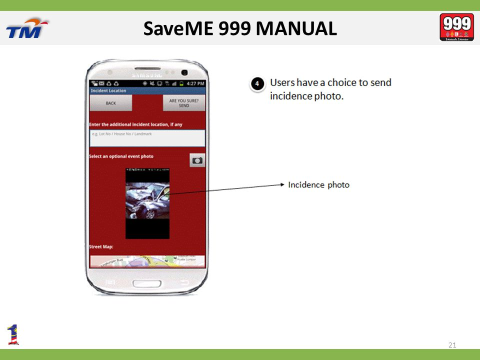 SaveME 999 MANUAL 21