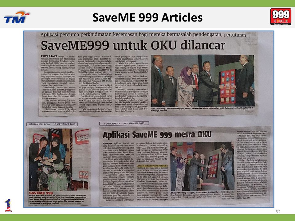 SaveME 999 Articles 32