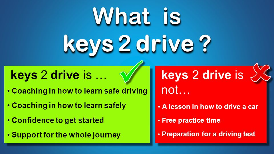 What is keys 2 drive . What is keys 2 drive .