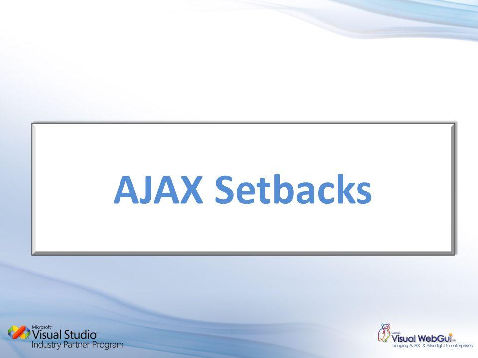 AJAX Setbacks