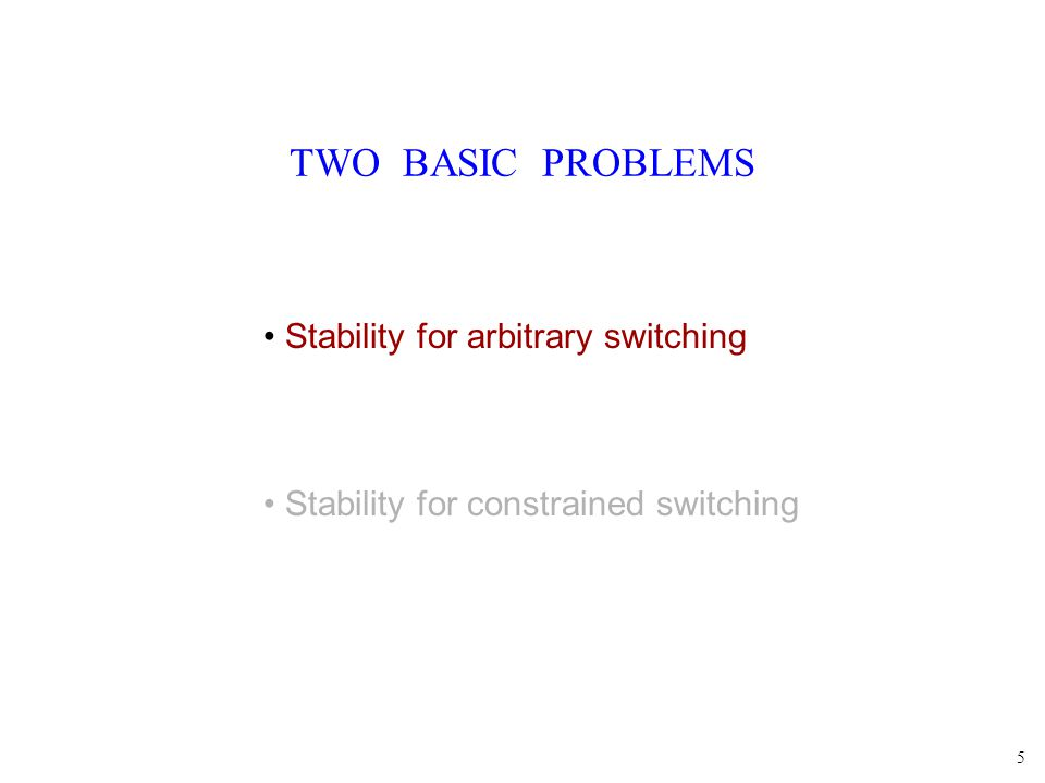 26 DWELL TIME The switching times satisfy GES t Need: