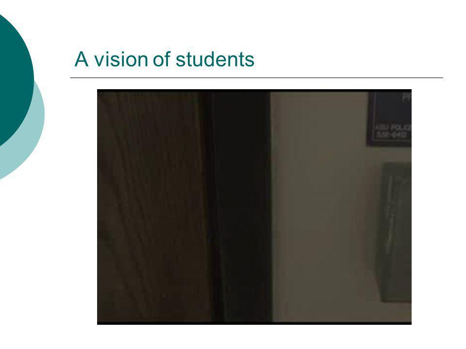 A vision of students