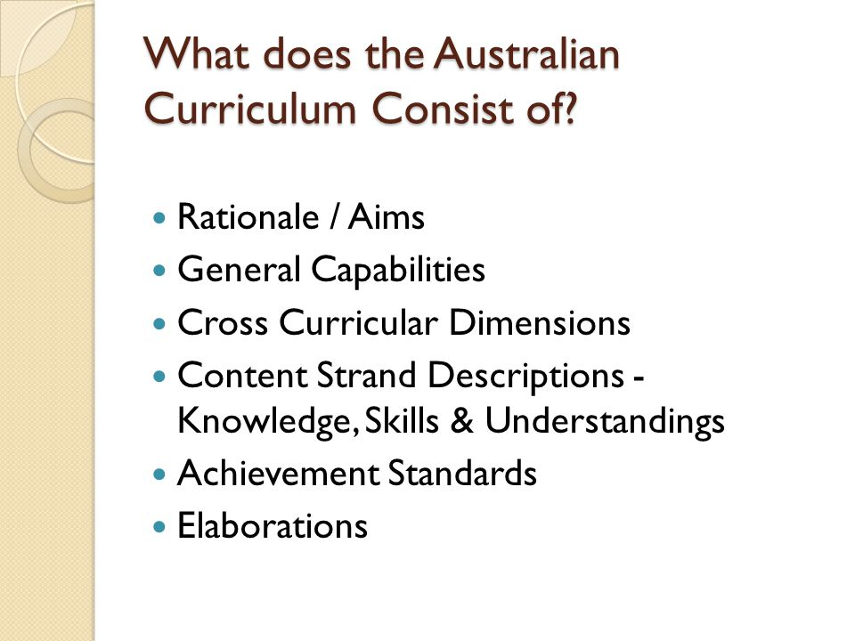 Pedagogy Pedagogy is not included in the Australian Curriculum.