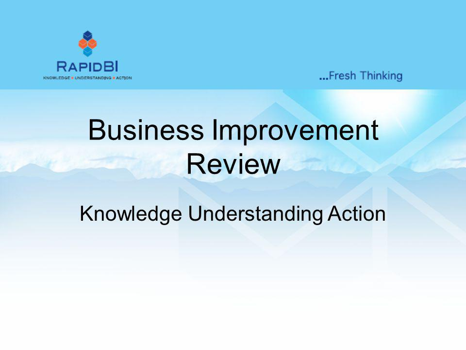Business Improvement Review Knowledge Understanding Action