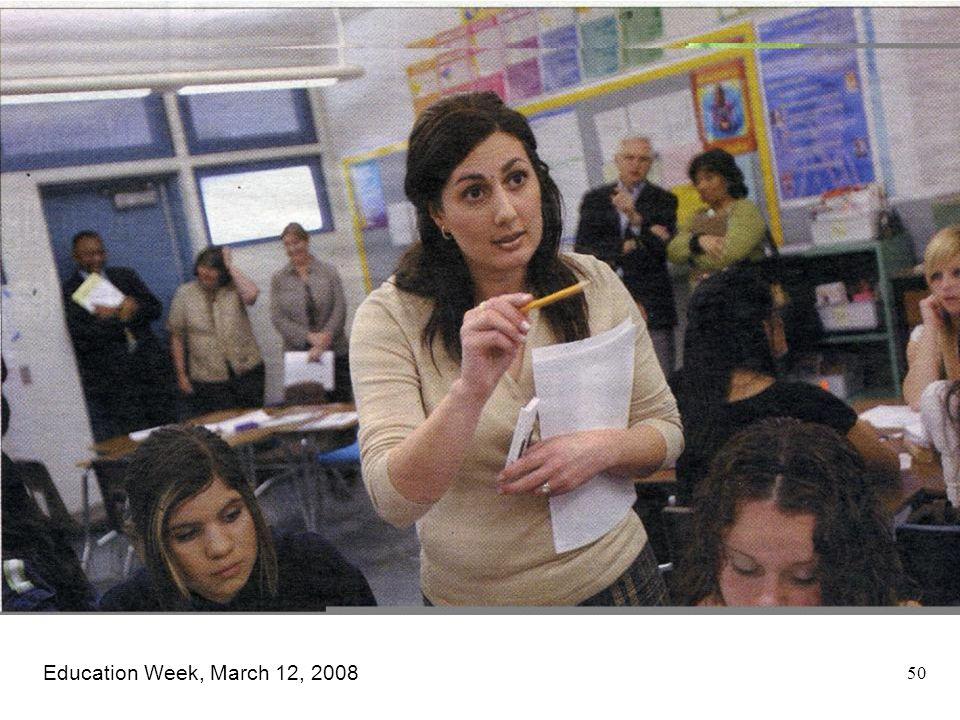 Education Week, March 12, 2008 50